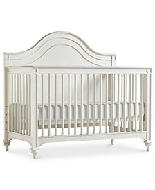 Gabriella Baby 4-In-1 Convertible Crib (Convertible Crib, Bed Rails, Slat Roll & Footboard)