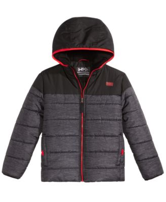 Image of Hawke & Co. Outfitter Clark Hooded Puffer Jacket, Big Boys (8-20)