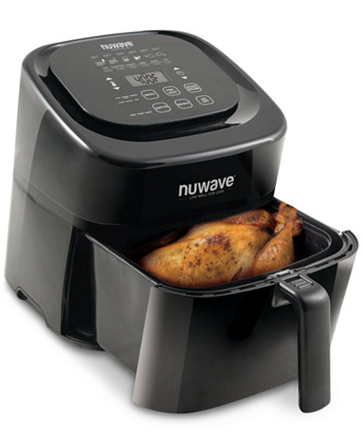 nuwave brio 6 qt digital air fryer small appliances kitchen macy 39 s. Black Bedroom Furniture Sets. Home Design Ideas