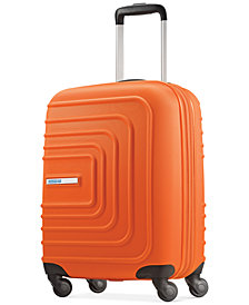 """CLOSEOUT! American Tourister Xpressions 20"""" Expandable Carry-On Hardside Spinner Suitcase, Created for Macy's"""