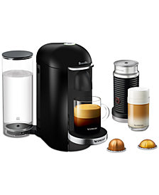Nespresso by Breville VertuoPlus Deluxe Coffee & Espresso Machine with Aerocinno3