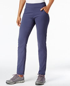 Columbia Anytime Pull-On Straight Leg Pants