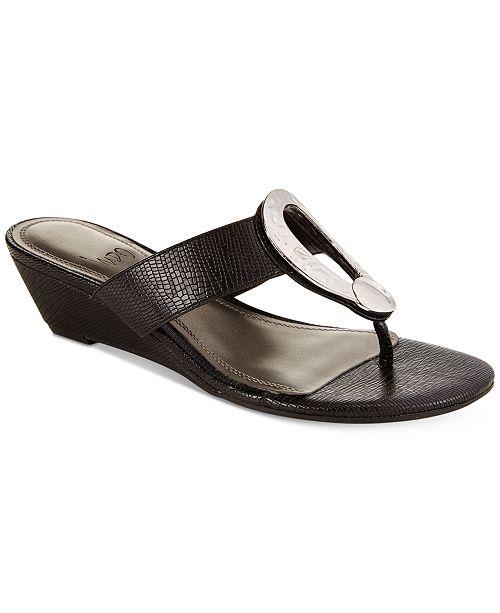 9ce84e69e Impo Gretchen Wedge Thong Sandals  Impo Gretchen Wedge Thong Sandals ...