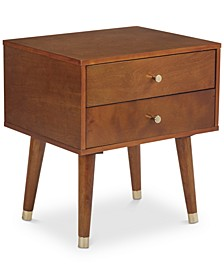 CLOSEOUT! Cupertino Side Table Two Drawer