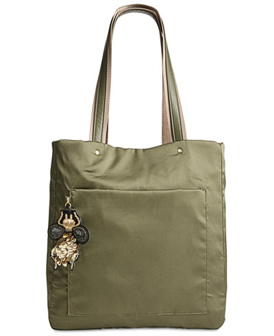 Steve Madden Booker Medium Satin Tote, a  Exclusive Style