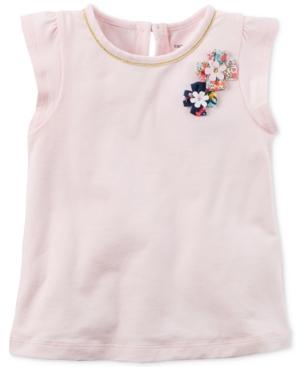 Carters FlutterSleeve Top Toddler Girls (2T5T)