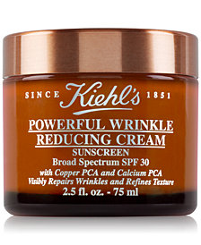Kiehl's Since 1851 Powerful Wrinkle Reducing Cream Sunscreen SPF 30, 2.5-oz.