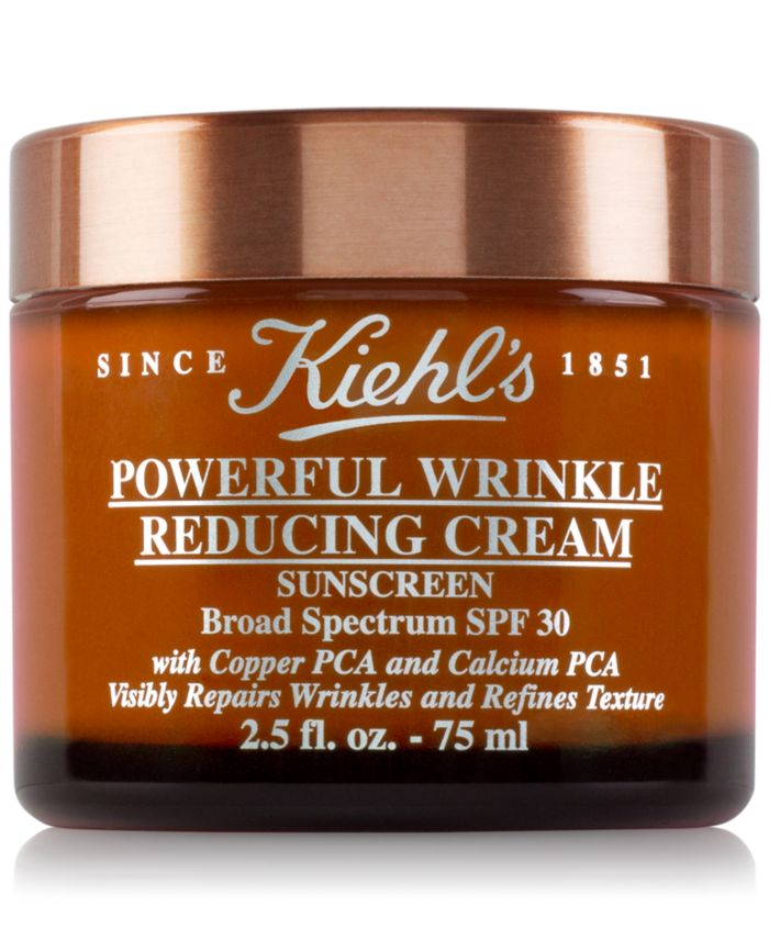 Kiehl's Since 1851 Powerful Wrinkle Reducing Cream Sunscreen SPF 30, 2.5-oz. & Reviews - Skin Care - Beauty - Macy's