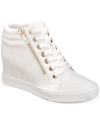 Image of ALDO Kaia Lace-Up Wedge Sneakers