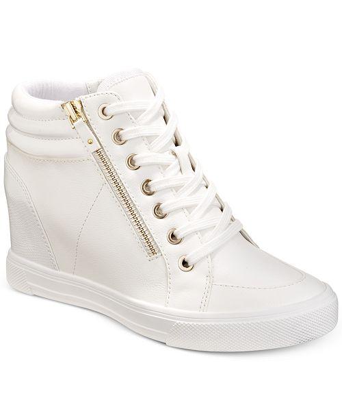 D.A.T.E. gemstone bow-tie sneakers - White Bajo Costo 3flhC3v