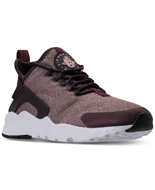 bff9d7f77ba8 ... Nike Women s Air Huarache Run Ultra SE Running Sneakers from Finish ...
