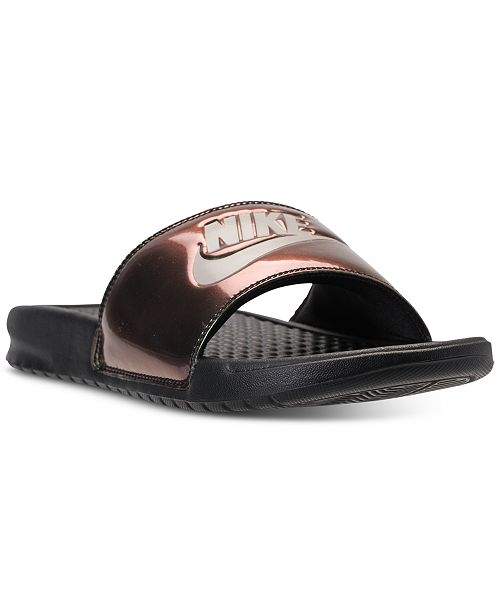 645ae468be93 Nike Women s Benassi JDI Print Slide Sandals from Finish Line ...