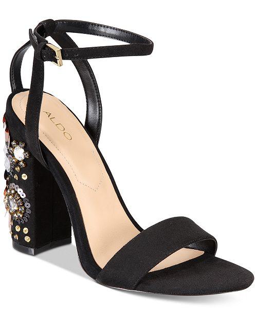 e2c31261efe ALDO Luciaa Two-Piece Dress Sandals   Reviews - Sandals   Flip ...