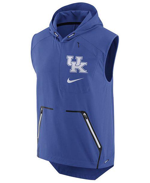 c3b58eae809fe ... Hooded Vest  Nike Men s Kentucky Wildcats Alpha Fly Rush Hooded ...