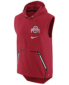 Nike Men's Ohio State Buckeyes Alpha Fly Rush Hooded Vest