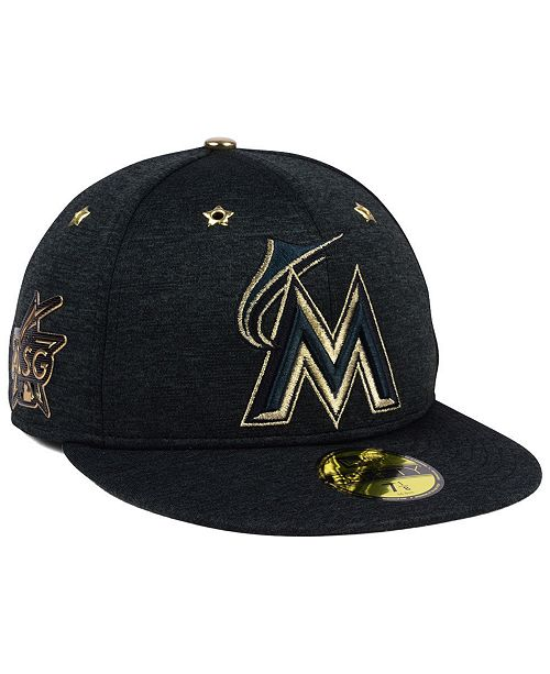 New Era. Miami Marlins 2017 All Star Game Patch 59FIFTY Fitted Cap. Be the  first to Write a Review. main image ... 3e64c8445f7