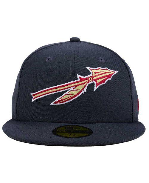 81cfa9943cc New Era Florida State Seminoles AC 59FIFTY Fitted Cap - Sports Fan ...