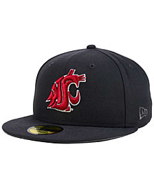 New Era Washington State Cougars AC 59FIFTY Fitted Cap
