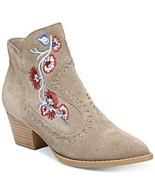 Carlos by Carlos Santana Vivian Embroidered Western Booties