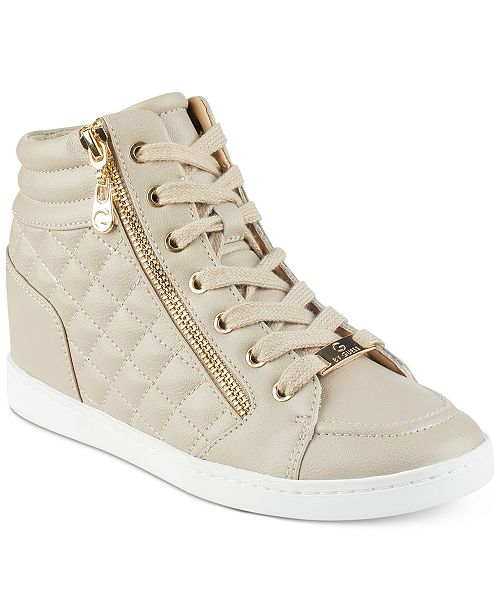 fc9ff985b87e8 G by GUESS Daryl High-Top Sneakers   Reviews - Sneakers - Shoes ...