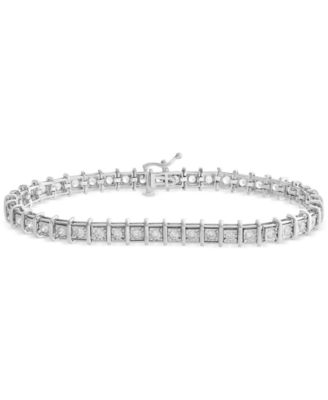 Diamond Tennis Bracelet 2 ct tw in 14k Gold or White Gold
