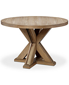 Xavier Round Dining Table, Quick Ship