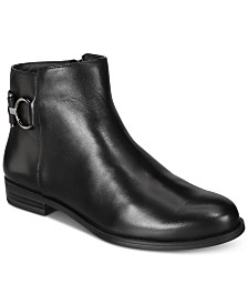 Leather Ankle Boots: Shop Leather Ankle Boots - Macy's