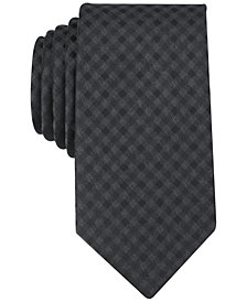 Perry Ellis Men's Powell Check Tie