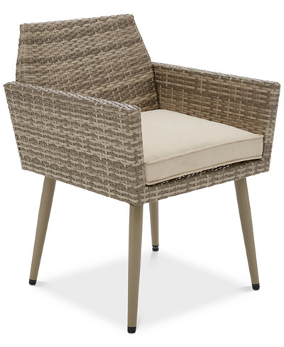 Avery Outdoor Armchair (Set of 2), Quick Ship