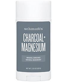 Schmidt's Deodorant Charcoal + Magnesium Deodorant Stick