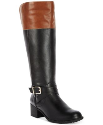 Image of Style & Co Venesa Riding Boots, Created for Macy's