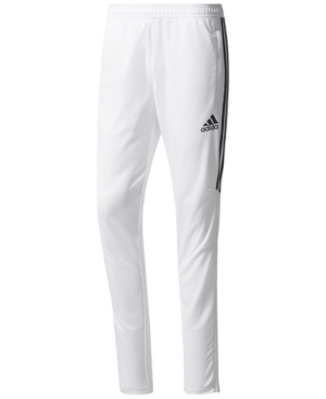 Adidas Originals Adidas Men S Climacool Tiro 17 Soccer Pants In White Black b9c9d8200