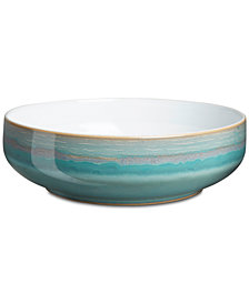 Denby Dinnerware, Azure Coastal Serving Bowl