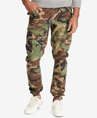 Polo Ralph Lauren Men S Camo Cargo Pants Pants Men Macy S