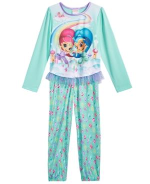 Shimmer  Shine 2Pc Pajama Set Little Girls (46X)  Big Girls (716)