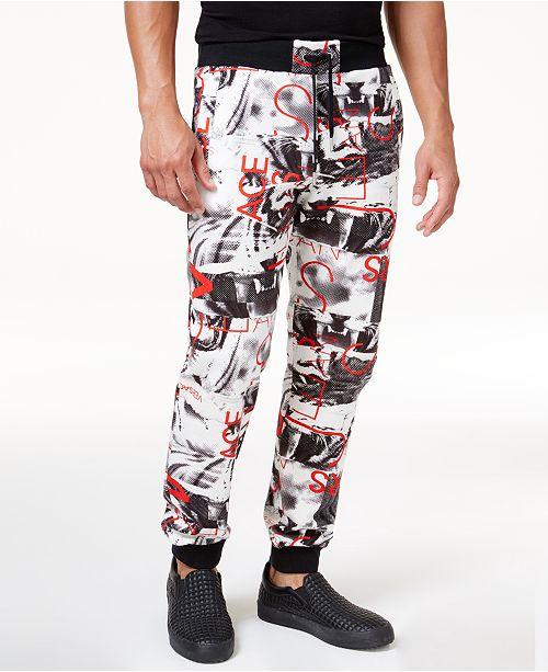 Versace Jeans Men s Graphic Print Drawstring Jogger Pants - Pants ... 5add459f978