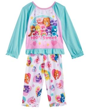 Care Bears 2Pc 100 Sweet Pajama Set Toddler Girls (2T5T)