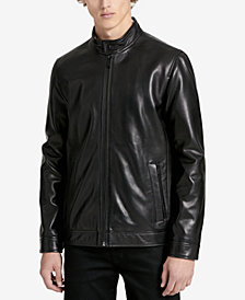 Calvin Klein Men's Classic Leather Jacket
