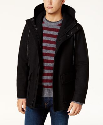Cole Haan Men's Waterproof Wool Primaloft Coat - Coats & Jackets ...