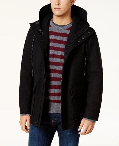 Cole Haan Men's Waterproof Wool Primaloft Coat - Coats & Jackets ...