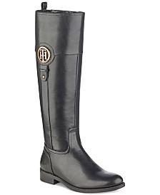 858ef07e580a28 Tommy Hilfiger Women s Boots - Macy s