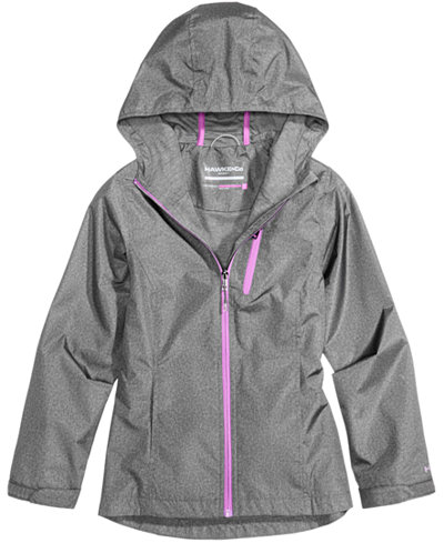 Hawke & Co. Outfitter Hooded Rain Jacket, Toddler Girls (2T-5T ...