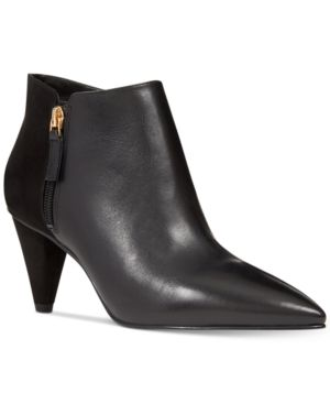 Nine West Yames Pointed-Toe Booties Women