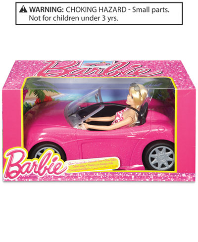 mattels barbie doll vehicle playset