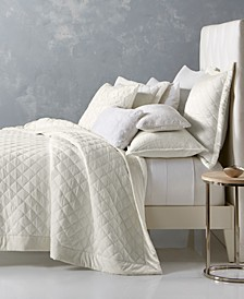 Trousseau Cotton Quilted Coverlet & Sham Collection, Created for Macy's