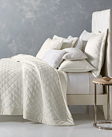 Hotel Collection Trousseau Cotton Quilted King Coverlet, Created for Macy's