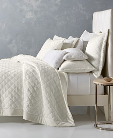 Hotel Collection Trousseau Cotton Quilted Coverlet & Sham Collection, Created for Macy's