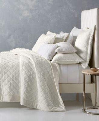 Hotel Collection Trousseau Cotton Quilted Full/Queen Coverlet, Created For  Macyu0027s
