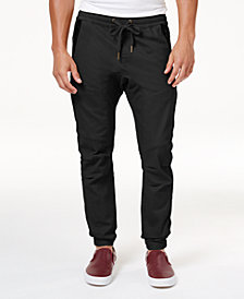 Ring of Fire Men's Stretch Jogger Pants, Created for Macy's