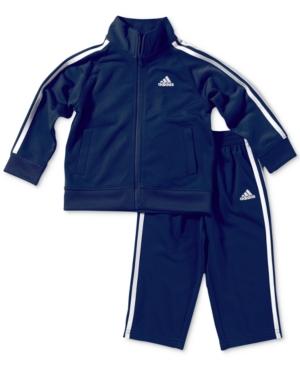 adidas 2Pc Tricot Jacket  Pants Set Baby Boys (024 months)